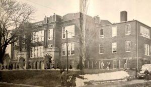 Pella High School 1958 Now Pella Community Center